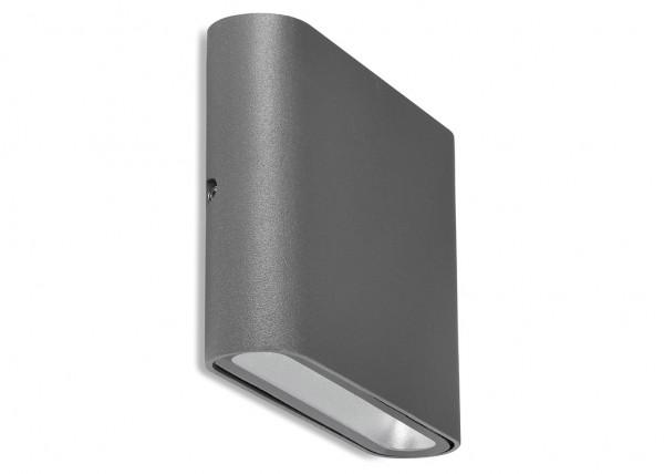 LED Wandleuchte UpDown Alu Antrazit inkl.2x3W IP54