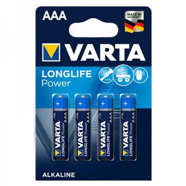 Varta Batterien Longlife Power AAA 4er Blister