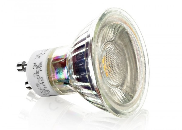 LED Gu10 5Watt 350Lumen 4000K 45° Dimmbar