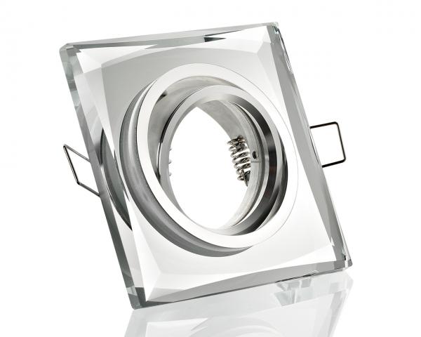 Einbaurahmen aus Glas - Klickverschluss Verspiegelt