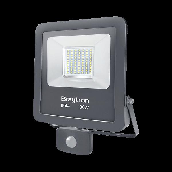 LED Strahler/Fluter 30W=320W 2400Lumen Ip 44 Sensor Kaltweiß