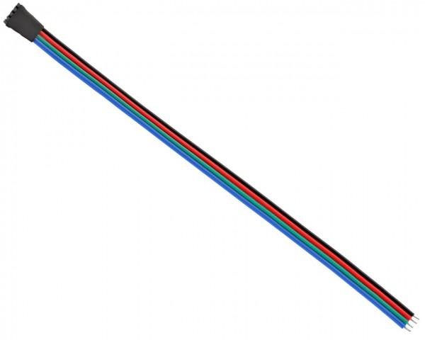 1 seitiger Steckanschluß Eingang bis 12V DC