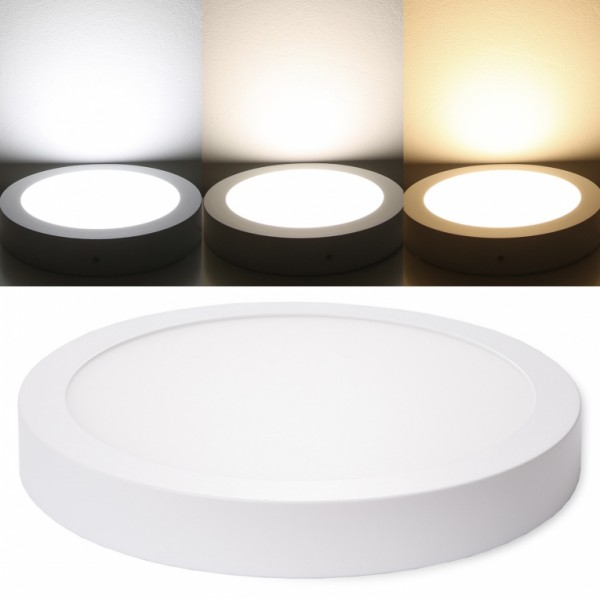 LED Panel 18W=180W=1360 Lumen Aufputz