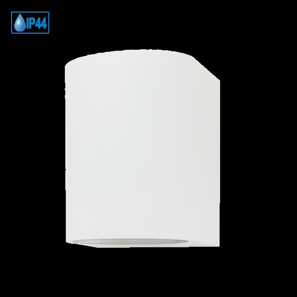 LED Downlight Wandleuchte Alu inkl. 1x LED GU10 5 Watt 410Lumen
