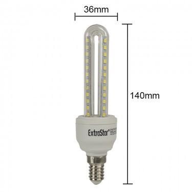 LED Maisbirne Kerze E14 6W = 48 Watt 480Lumen