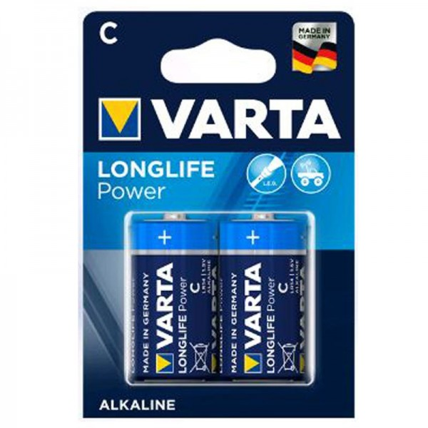 Varta Batterien Longlife Power C 2er Blister