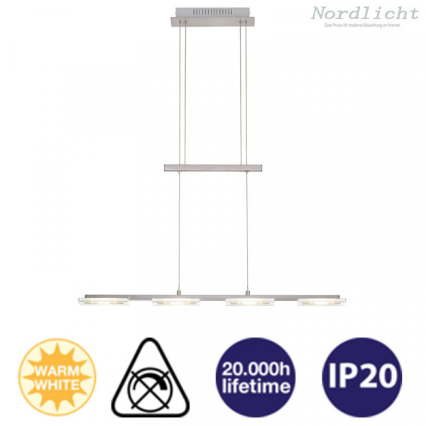 LED Briloner Hängelampe 1600 Lumen 18 Watt