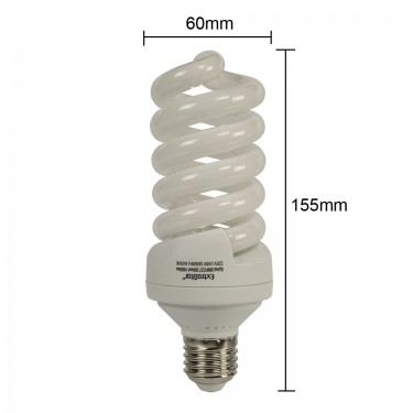 Sparlampe E27 26W Kaltweiß Energiesparlampe 126W
