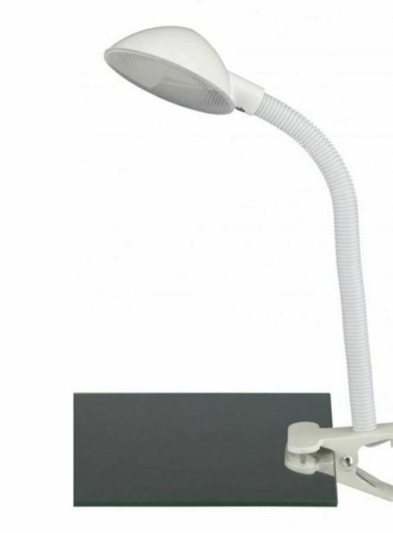 Klemmleuchte Schreibtischlampe Kinderleuchte Weiß