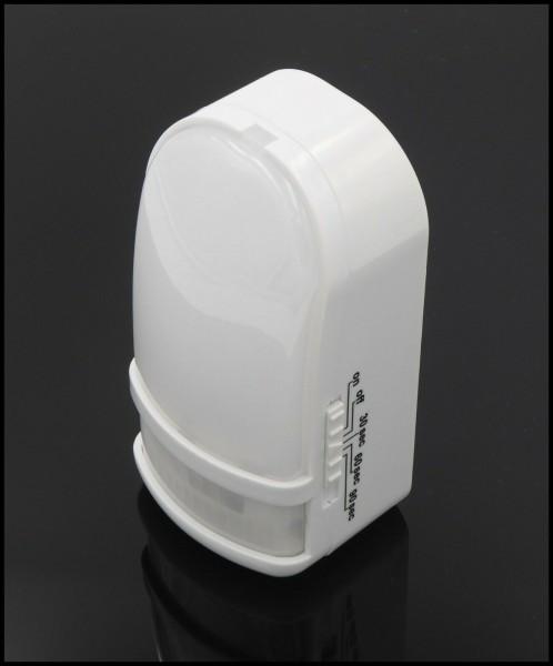 Nachtlicht -Nachlicht mit Bewegungsmelder Batteriebetrieb Weiß