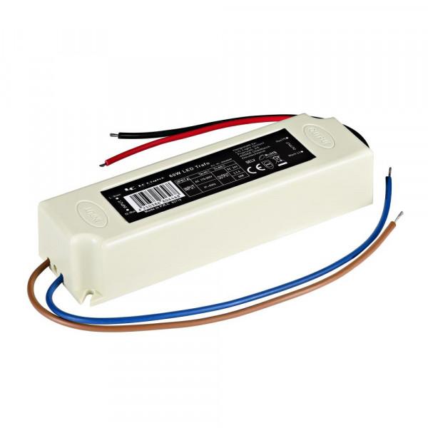 LED Trafo 60W IP67 24V 2,5 A PVC vergossen