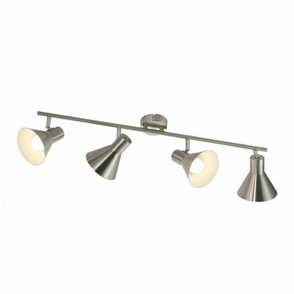 LED Lampe Retro 4er Strahler 70cm Lang inklusiv LED-Leuchtmittel