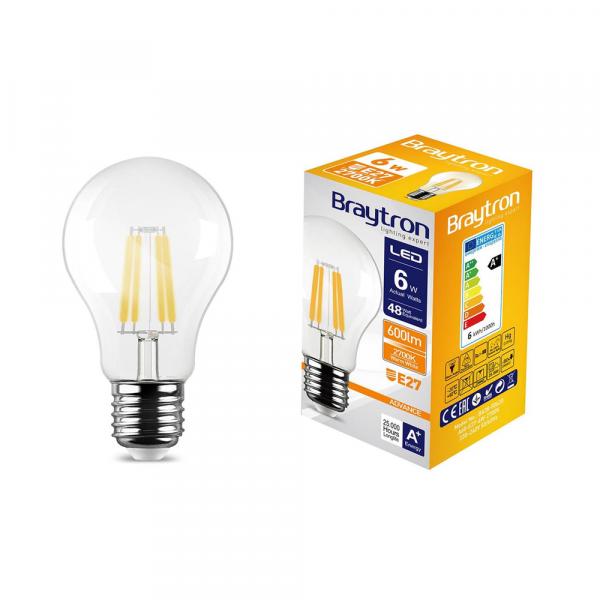 LED Retro E27 Leuchte 6W = 60W 600 Lumen