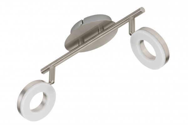LED Deckenleuchte, Deckenlampe, 2 x LED Platine, 4 Watt, 330 Lumen, Strahler dreh- und schwenkbar, m