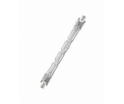 Halogen-Röhre, R7S-Sockel, dimmbar,Warmweiß - 2900K [Energieklasse D] 117mm