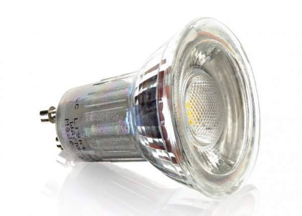 LED Gu10 7Watt 550Lumen 6500K Dimmbar 38°