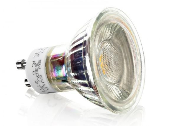 LED GU10 5Watt 470 Lumen 6500K 45°