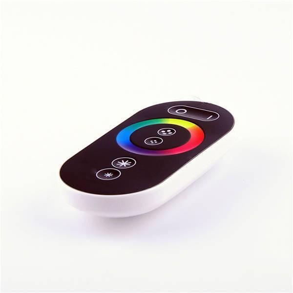 LED RGB 220V Fernbedienung RF Touch 7 Tasten