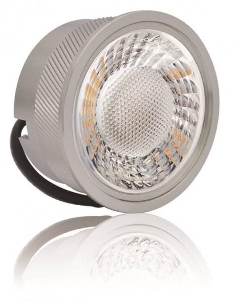 LED Modul 5W 3000K Dimmbar Alu mit Linse 50mm