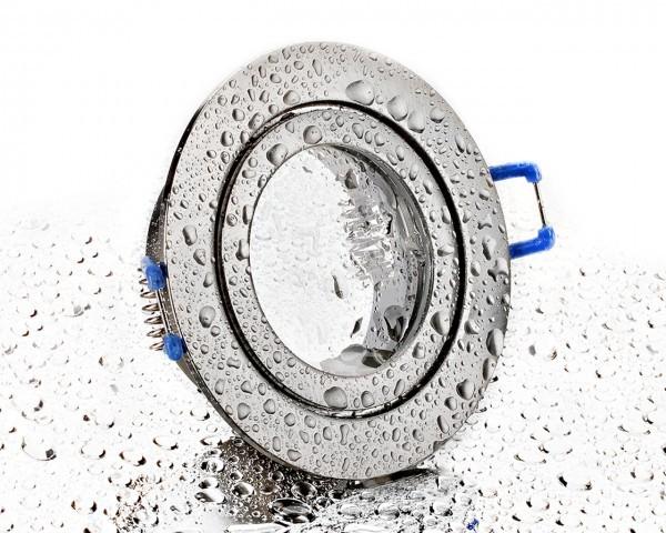 Einbaurahmen aus Aluminium- Eckig Rund Klickverschluss Ip44