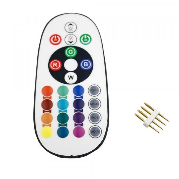 LED RGB 220V Fernbedienung IR 24 Tasten