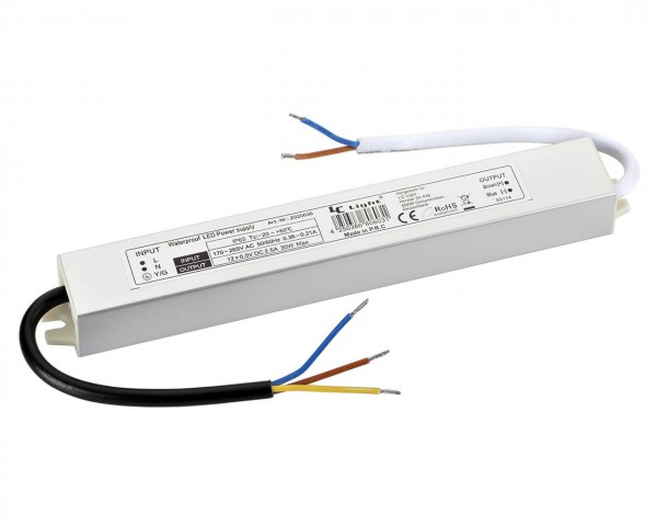 Led Trafo 30W IP65 Wasserdicht Alu