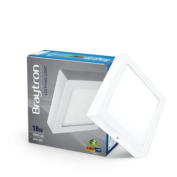 LED Panel 18W=180W=1360 Lumen Aufputz
