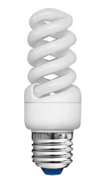 Energiesparlampe Kerzen Fassung 11W = 60 Watt