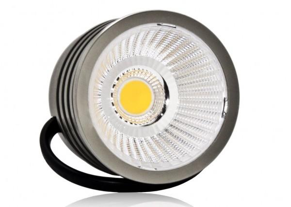 LED Modul 6,5W 6000K Dimmbar Alu mit COB Linse 50mm