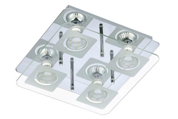 LED Deckenleuchte Wandleuchte Deckenlampe Wandlampe Briloner 3514-048