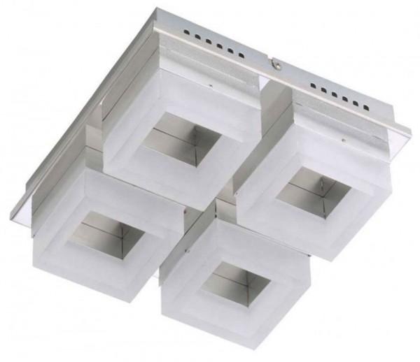 PRISMA LED DECKENLEUCHTE, WANDLEUCHTE 4 X 6 W, 1680 LM, I