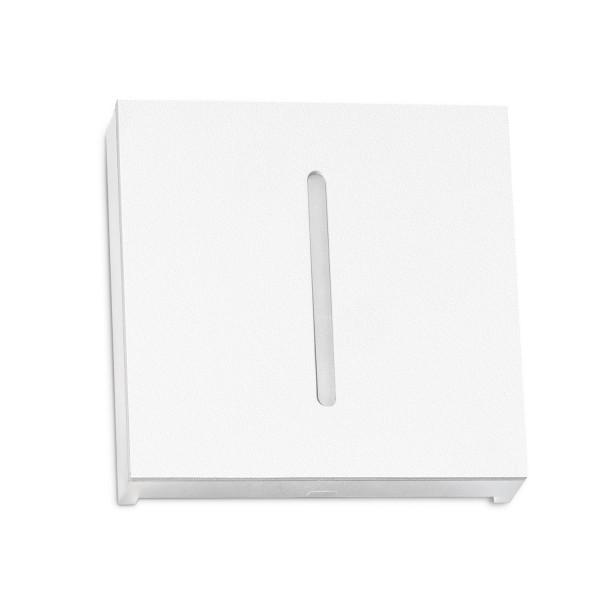 Treppenbeleuchtung - LED Wandeinbauleuchte Schlitz in Weiß