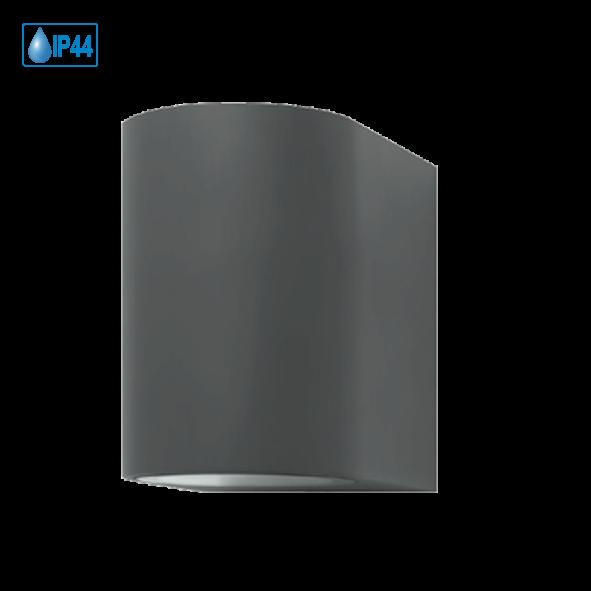LED Down Light Wandleuchte Aluminium Anthrazit GU10 5 Watt 360 Lumen