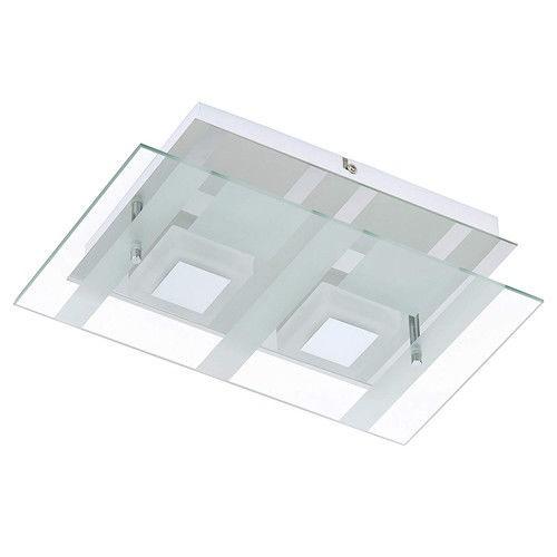 Briloner LED Deckenleuchte Wandleuchte, 2 x 5 W, 400Lumen chrom