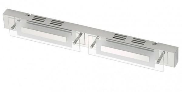 Briloner Leuchten Badleuchte, Wandleuchte, Deckenleuchte, 2 x LED 6 W, chrom 2293-028 [Energieklasse